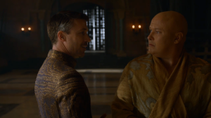 Littlefinger and Varys