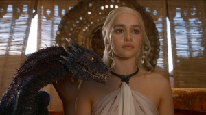 Daenerys-Targaryen-and-dragon-season-3