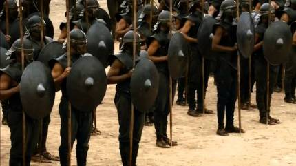 Unsullied-ranks