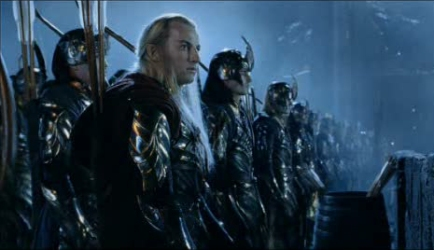 Elves at helms deep